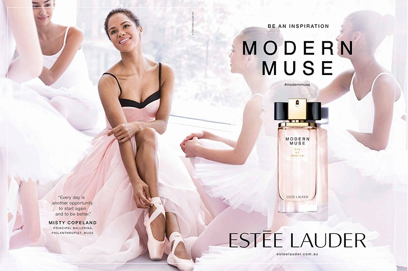Misty Copeland fronts Estee Lauder Modern Muse advertising campaign