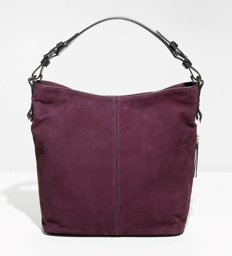 & Other Stories Suede Hobo Bag $172 (previously $245)