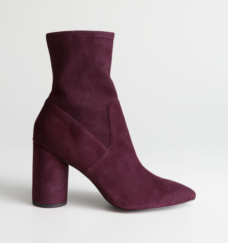 & Other Stories Suede Sock Boots $137 (previously $229)