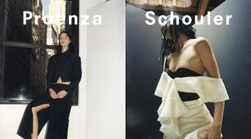 Mariacarla Boscono fronts Proenza Schouler's spring-summer 2018 campaign