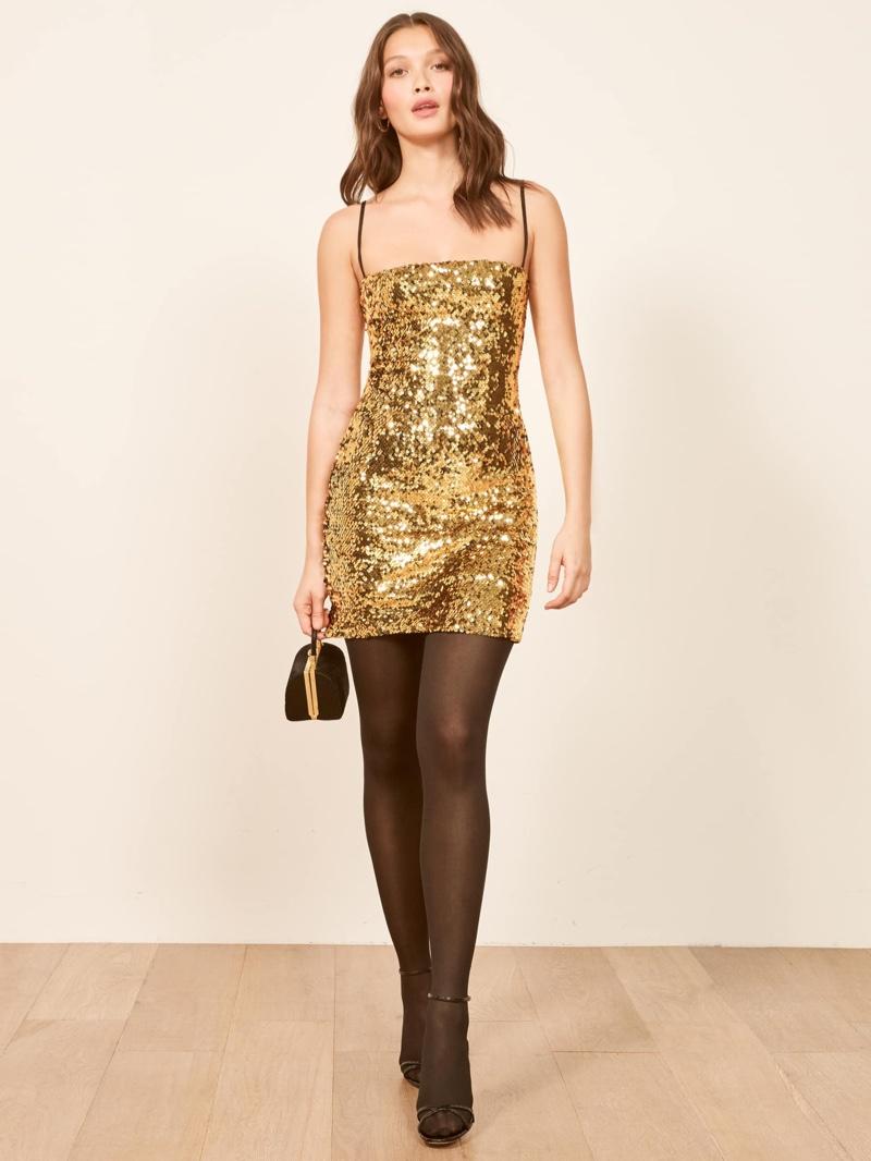 Reformation Roxi Dress in Waldorf $198