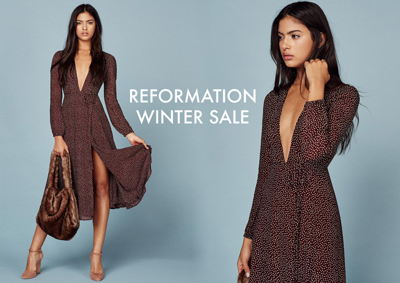 Reformation winter 2017 sale