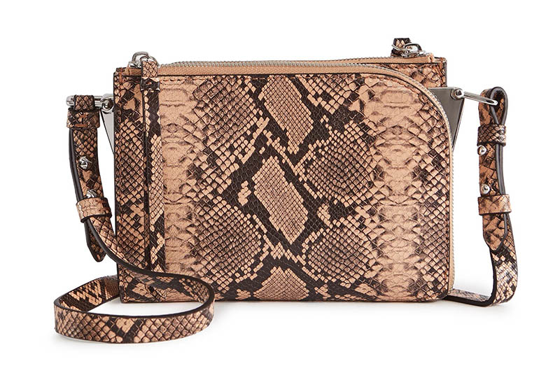 REISS Arnott Mini Snake Mini Cross-Body Bag $180 (previously $285)
