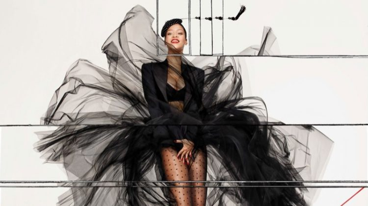 Rihanna Transforms in Fashion Forward Shoot for Vogue Paris