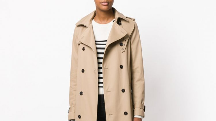 Saint Laurent Belted Classic Trench Coat $2,990