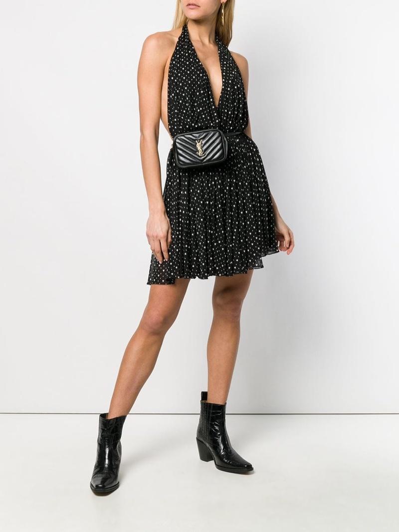 Saint Laurent Heart Printed Dress $1,487