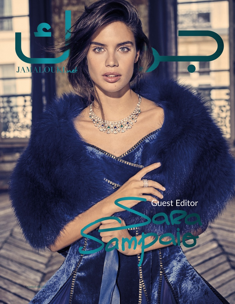 Sara Sampaio on Jamalouki Magazine December 2017 Cover
