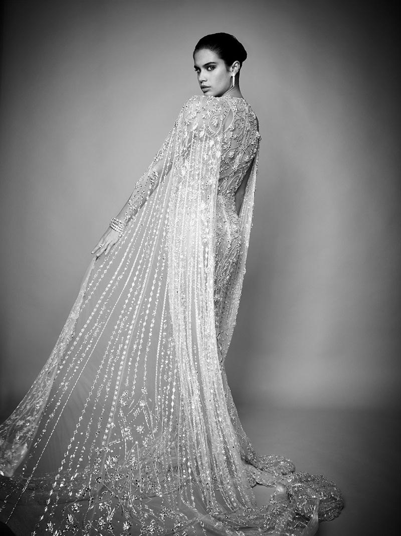 Sara Sampaio Dazzles in Haute Couture Gowns for Jamalouki Magazine