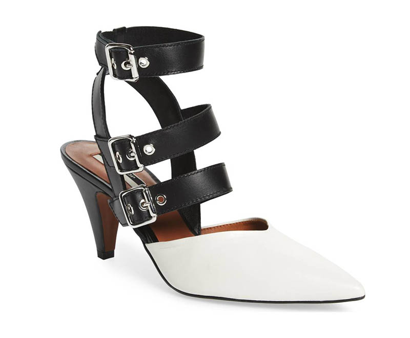 Topshop Jockey Buckle Pointy Toe Pump $54.98 (previously $110)