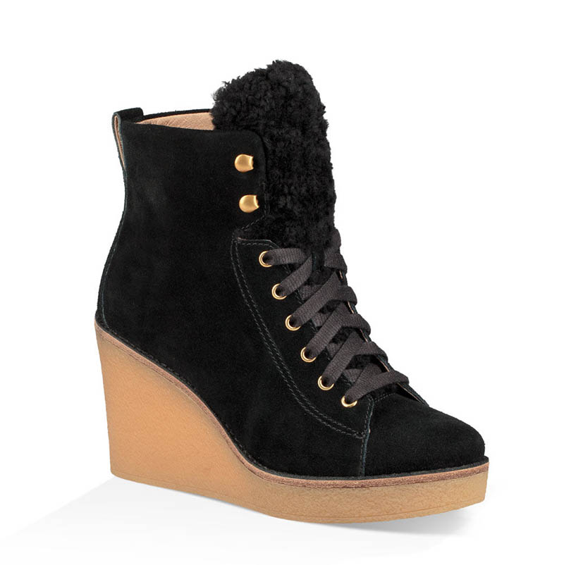 UGG Kiernan Wedge Bootie $96.99 (previously $195)