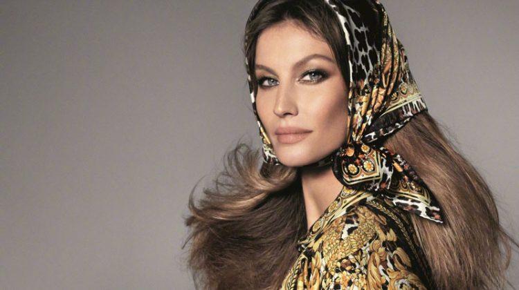 Gisele Bundchen stars in Versace's spring-summer 2018 campaign