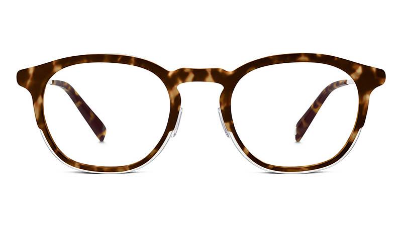 Warby Parker Tate Glasses in Hazelnut Tortoise Matte $145