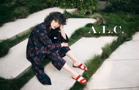 Steffy Argelich Looks Laid-Back in A.L.C.'s Spring 2018 Campaign