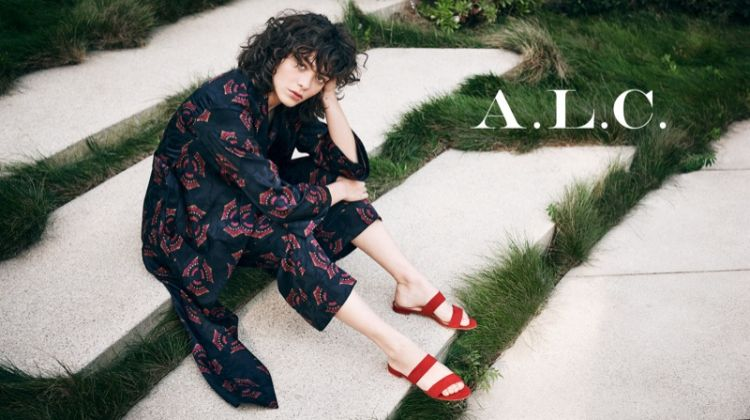 Steffy Argelich stars in A.L.C.'s spring-summer 2018 campaign