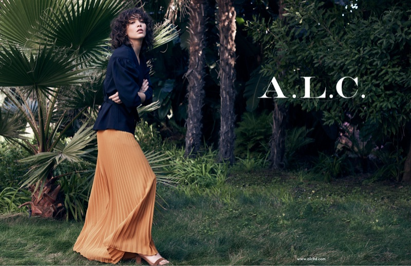 A.L.C. launches spring-summer 2018 campaign