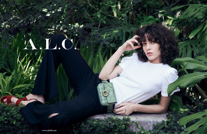 An image from A.L.C.'s spring 2018 advertising campaign