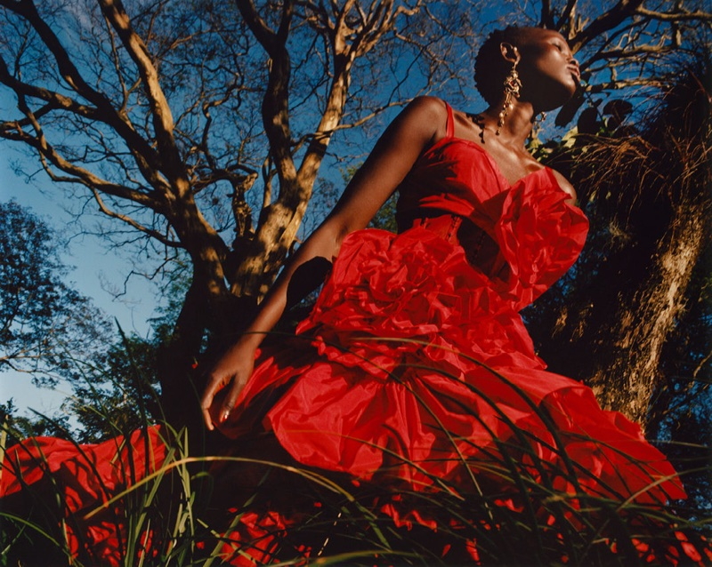 Alexander McQueen taps Shanelle Nyasiase for spring-summer 2018 campaign