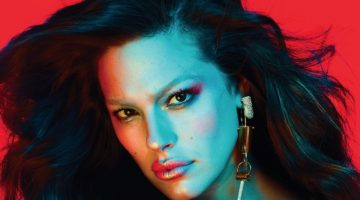 Ashley Graham Models Bold Beauty Looks for V Magazine