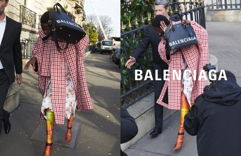 An image from Balenciaga's spring 2018 advertising campaign