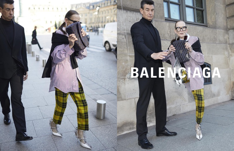 Balenciaga unveils spring-summer 2018 campaign featuring paparazzi inspired shots