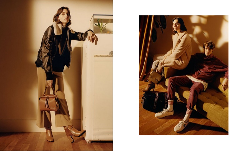 An image from Bally's spring 2018 advertising campaign