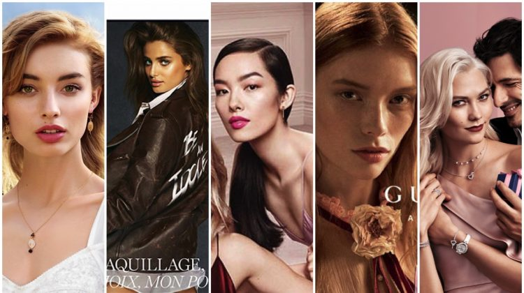 See the new beauty advertisements from Dolce & Gabbana, Gucci, Swarovski and more