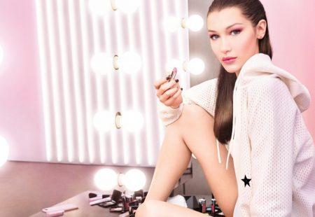 Bella Hadid Stuns in Dior 'Lip Glow' Campaign