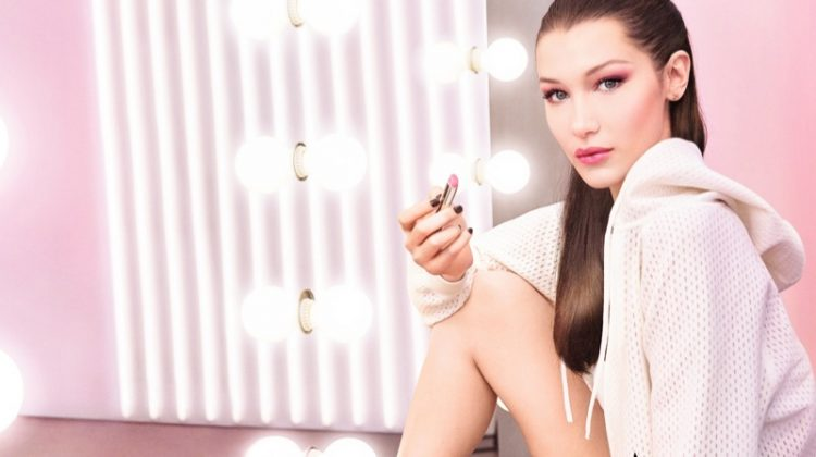 Bella Hadid stars in Dior Lip Glow campaign