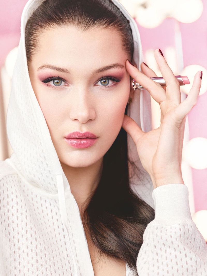 Dior taps Bella Hadid for Dior Lip Glow advertising campaign