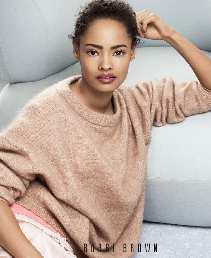 Malaika Firth fronts Bobbi Brown Cosmetics' spring-summer 2018 campaign