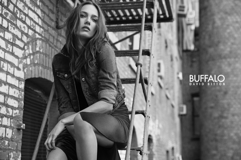 Buffalo Jeans taps Karmen Pedaru for latest campaign