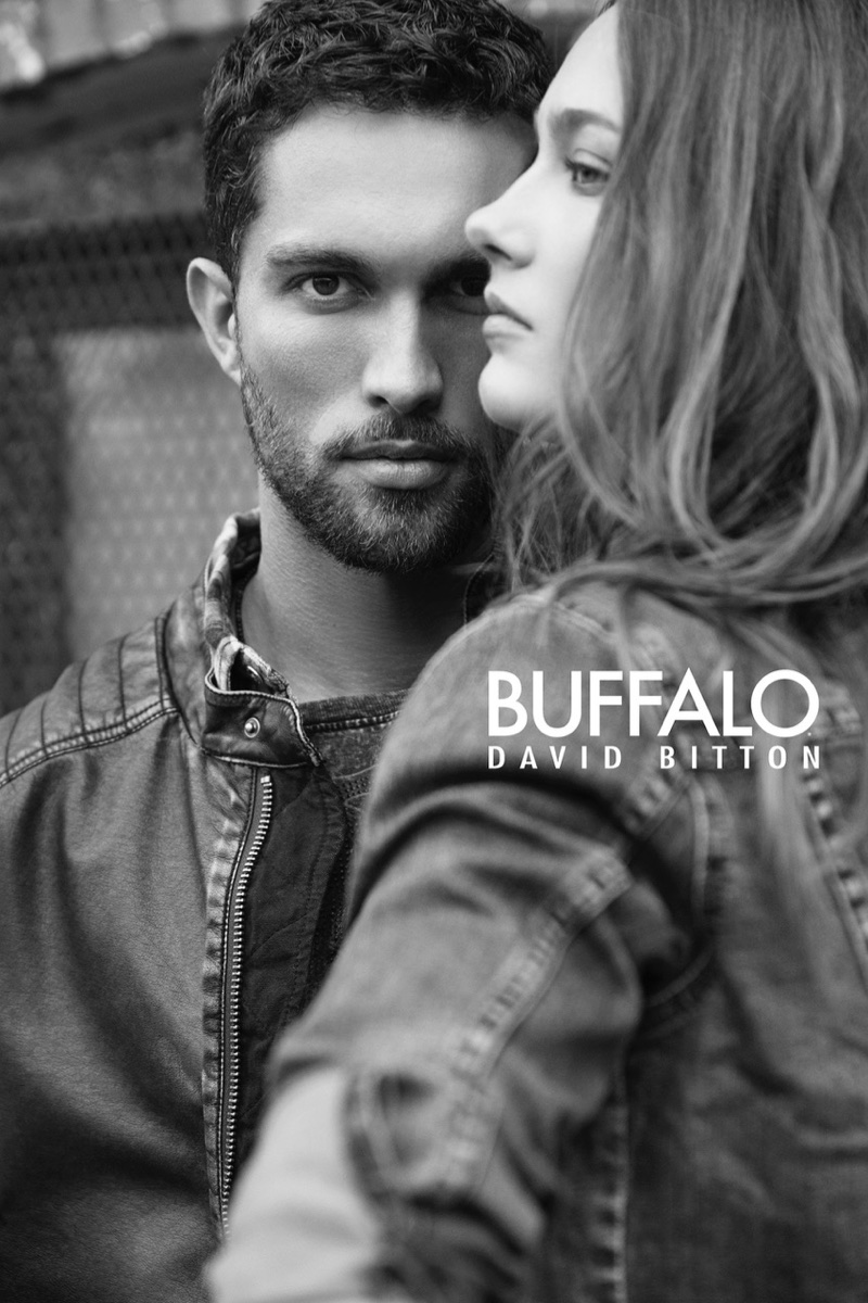 Tobias Sorensen and Karmen Pedaru couple up for Buffalo Jeans campaign