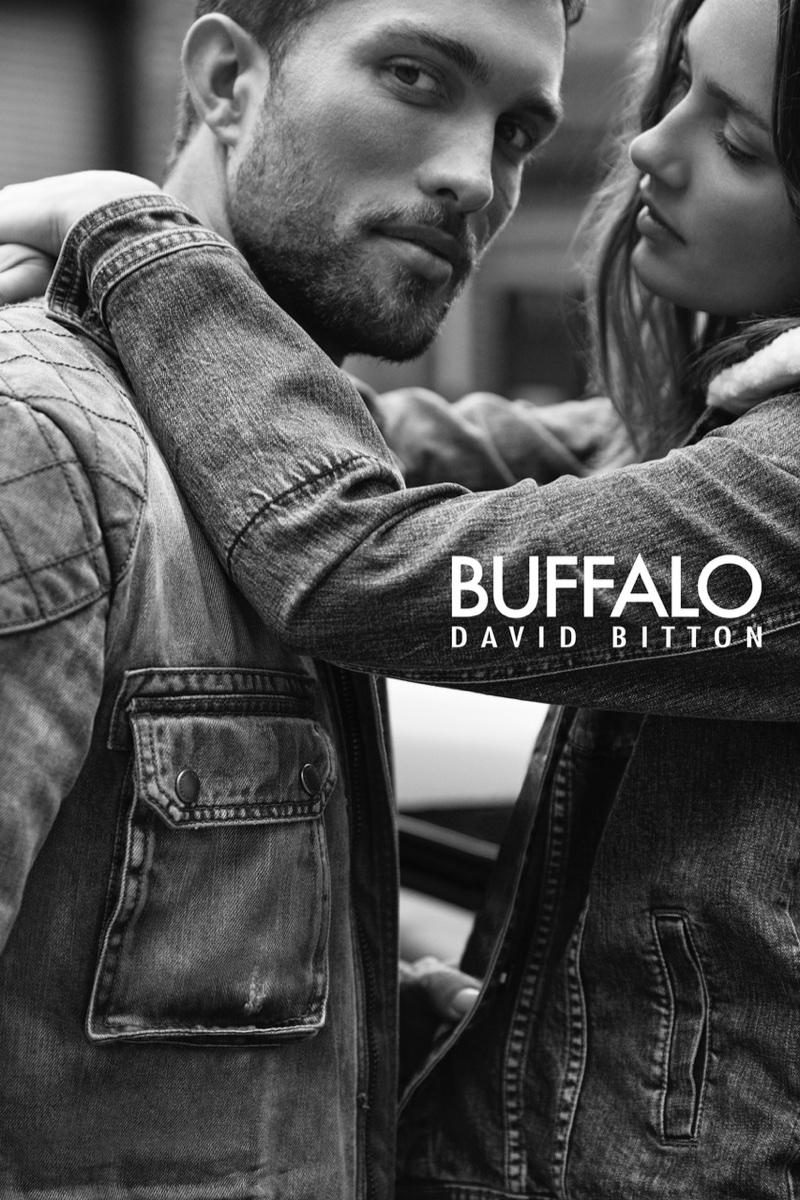 Tobias Sorensen and Karmen Pedaru appear in Buffalo Jeans campaign