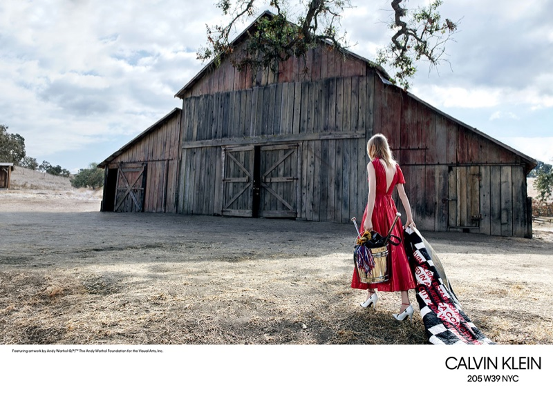 Calvin Klein heads outdoors for spring-summer 2018 campaign