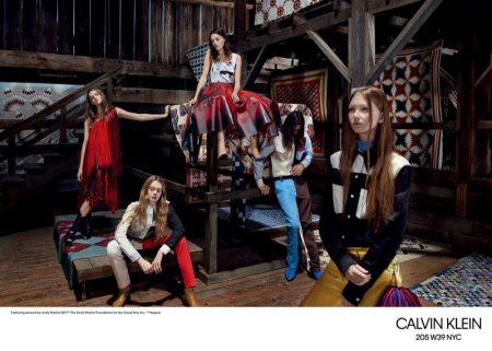Calvin Klein launches spring-summer 2018 campaign