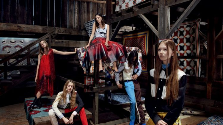 Calvin Klein 205W39NYC Celebrates Americana Style for Spring 2018 Campaign