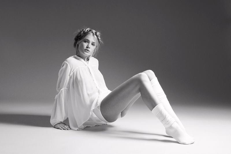 Camilla Christensen Looks Sporty Glam in ELLE Denmark