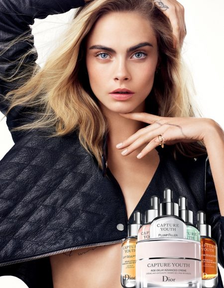 See Cara Delevingne's First Dior 'Capture Youth' Ad