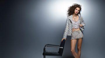 Camille Hurel stars in Chanel's pre-spring 2018 campaign