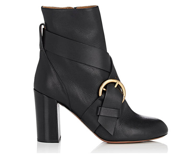 Chloé Nils Leather Ankle Boots $419 (previously $1,050)