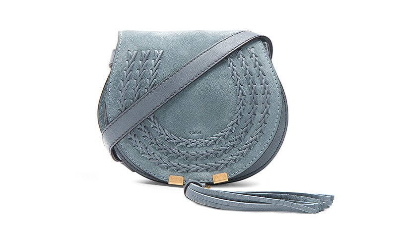 Chloe Small Marcie Suede Saddle Bag $594 (previously $990)
