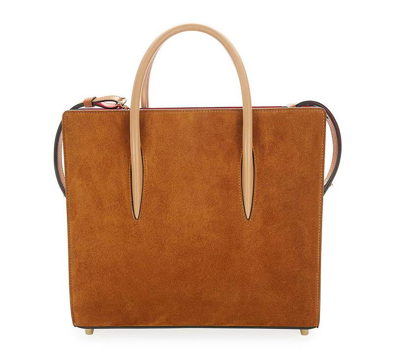 Christian Louboutin Paloma Medium Loubiwoodstock Suede Tote Bag $2,590