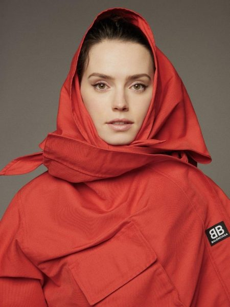 Daisy Ridley Wears Fashion Forward Looks in Grazia China