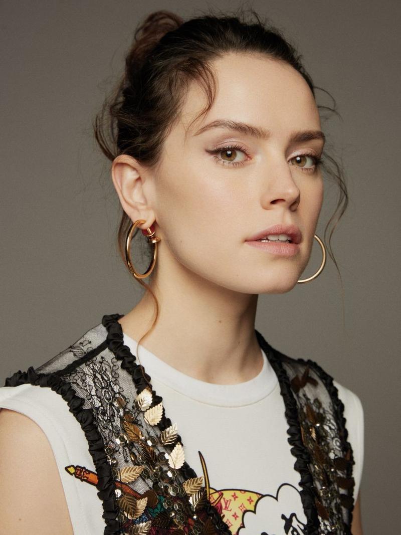 Daisy Ridley Wears Fashion Forward Looks in Grazia China