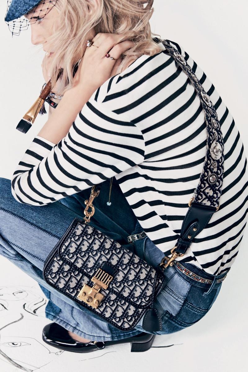 Dior focuses on stripes for spring-summer 2018 campaign