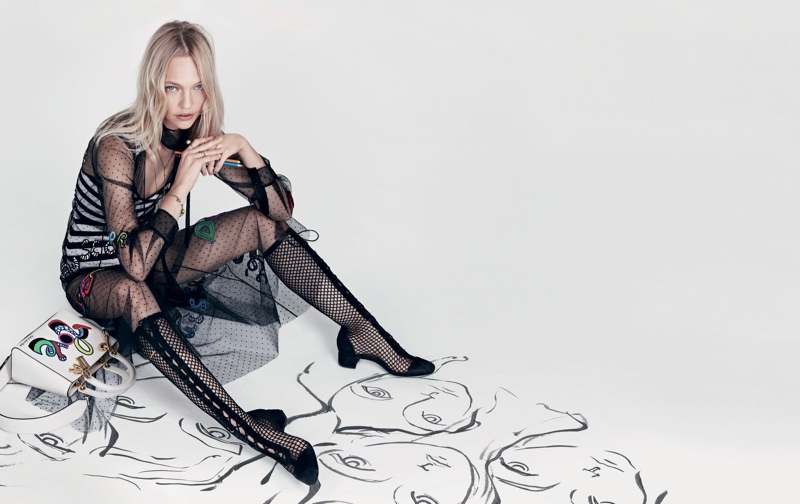An image from Dior's spring 2018 advertising campaign