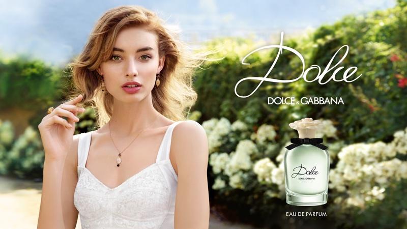 Giulia Maenza stars in Dolce & Gabbana's 'Dolce' fragrance campaign