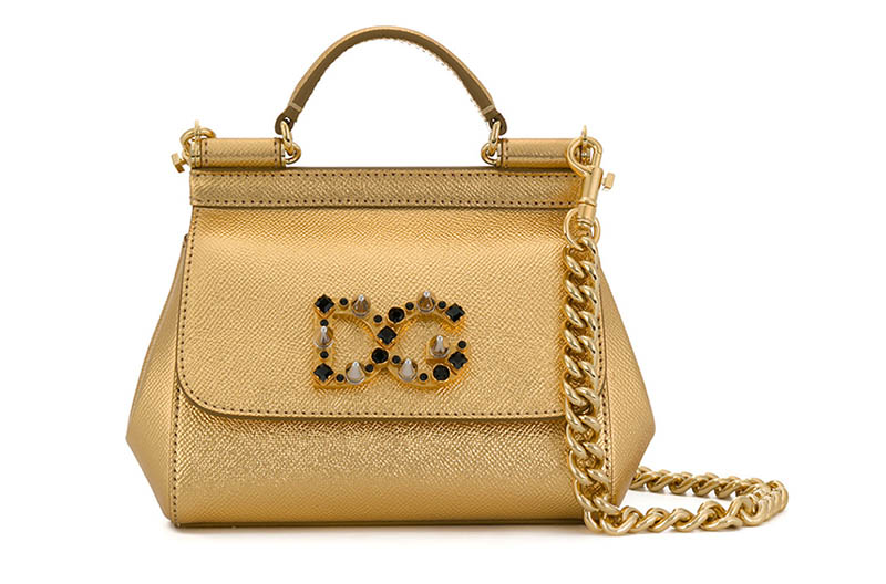 Dolce & Gabbana Mini Sicily Tote Bag $1,676