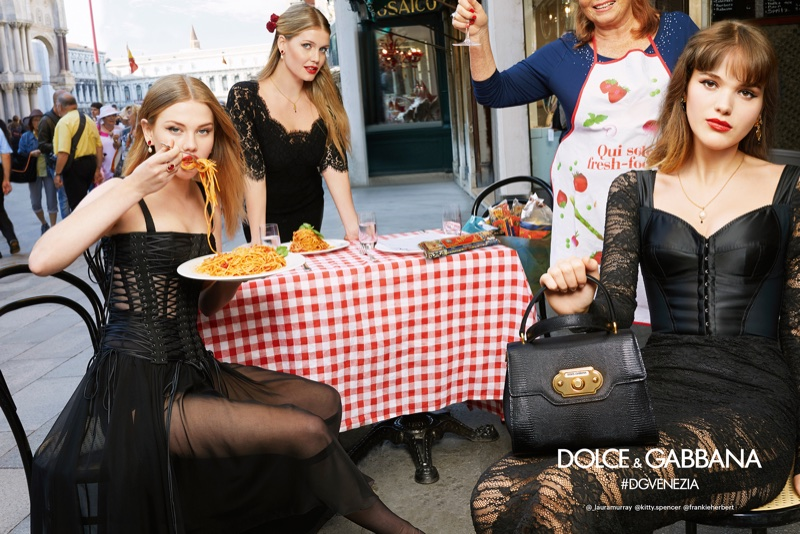 Dolce & Gabbana sets spring-summer 2018 campaign in Venice, Italy