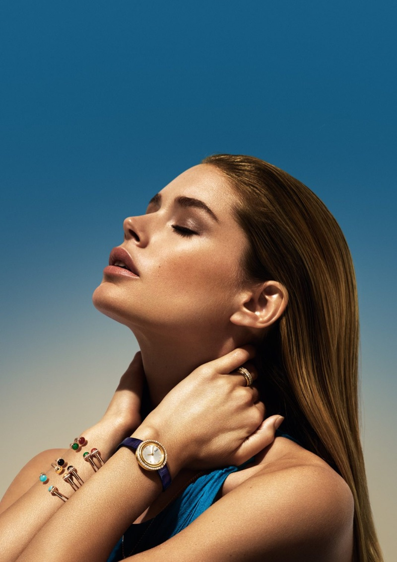 Doutzen Kroes Piaget Possession Jewelry Ad Campaign